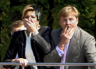 IMAGE: Princess Maxima and Prince Willem Alexander
