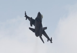 Image: A Turkish F-16 fighter