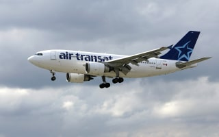 Image: An Air Transat Airbus A310 jetliner