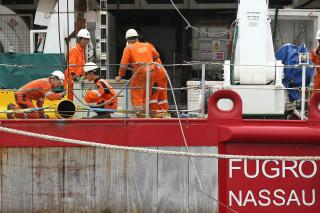 Image: Fugro Equator crew members