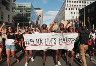 Image: Black Lives Matter Demonstration in Berlin