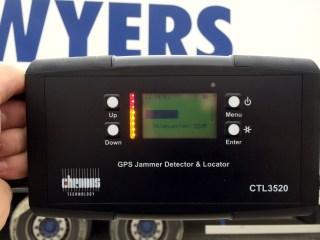 IMAGE: Jammer tracker