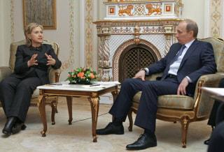 Vladimir Putin, Hillary Rodham Clinton