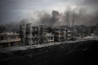 IMAGE: 2012 bombing of Aleppo