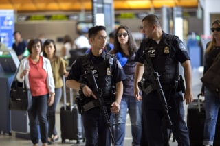 Image: Security Tightened At LAX During Busy Fourth Of July Weekend