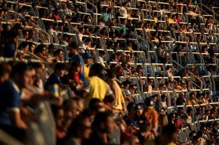 Image: Honduras vs Algeria Olympic soccer match