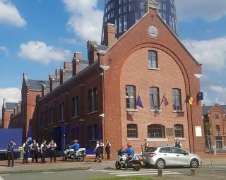 Image: BELGIUM-ATTACK-POLICE