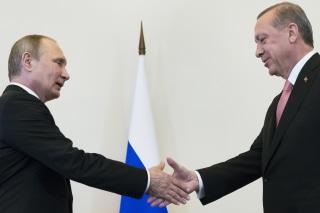 Image: Vladimir Putin, Recep Tayyip Erdogan