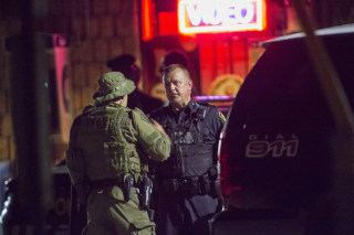 Image: Police in Strathroy, Ontario
