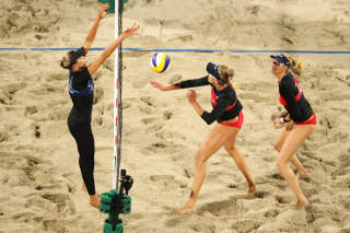 Image: Beach Volleyball - Olympics: Day 5