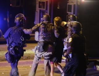 Image: Milwaukee police rescue man