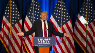 Image: Republican Presidential Nominee Donald Trump Campaigns In Youngstown, Ohio