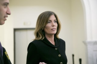 Image: Kathleen Kane, pictured here at court Monday, is the first woman and first Democrat to be Penn. attorney general.