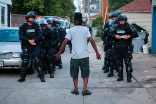 Image: ***BESTPIX*** Tensions High In Milwaukee After Police Shooting Of Armed Suspect Sparks Violence In City