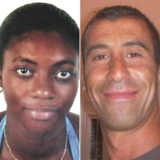 Image: Clarissa Jean-Philippe and Ahmed Merabet