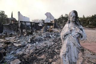 Image: Blue Cut Fire in California