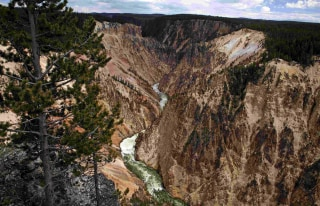 Image: The Grand Canyon of the Yellowstone River in Yellowstone National Park, Wyoming
