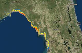 IMAGE: Hurricane Hermine storm surge forecast