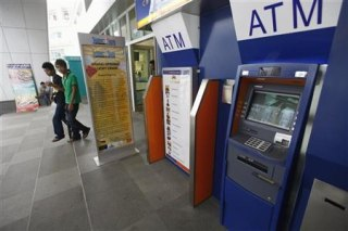 """Myanmar banking's new """"wow"""" factor - ATMs"""