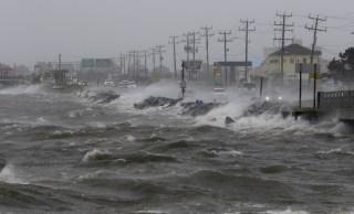Image: Hurricane damage in Manteo, N.C.