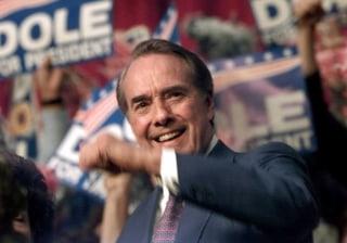Image: Republican presidential candidate US Senator Bob D