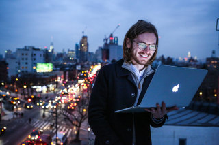 Portraits Of Freelance Coder James Knight, Who Makes Twice As Much After Quitting Google