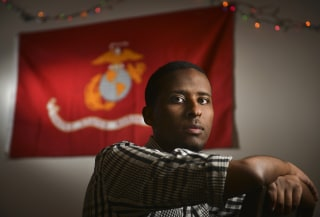 Ibrahim Hashi, a Muslim veteran of the United States military