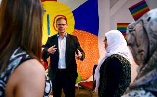 Image: Berlin's mayor Michael Mueller