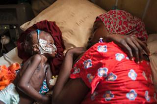 Image: TOPSHOT-NIGERIA-UNREST-BOKO-HARAM-MALNUTRITION-CHILDREN
