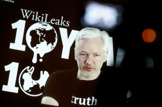 Image: Julian Assange