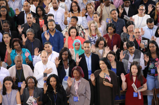 Image: Immigrants To U.S. Become Citizens During Naturalization Ceremony On Ellis Island