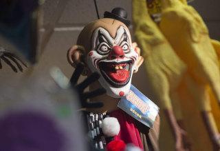 Image: Clown mask