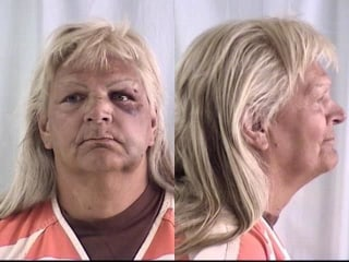 Image: Linda Thompson is pictured in this undated handout booking photo