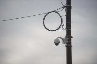 Image: A security camera in Philadelphia