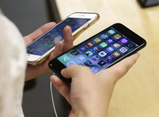 IMAGE: Apple iPhones