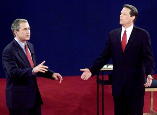 an analysis and a comparison of george w bush and al gore Keywords: discourse analysis political discourse obama bush  george w  bush was the 43rd president of the united states bush was  president al gore   are able to resolve our electoral differences in obama's speech.