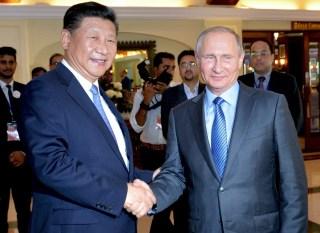 Image: Xi Jinping and Vladimir Putin