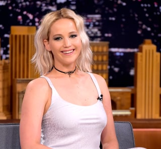 "Image: Jennifer Lawrence Visits ""The Tonight Show Starring Jimmy Fallon"""
