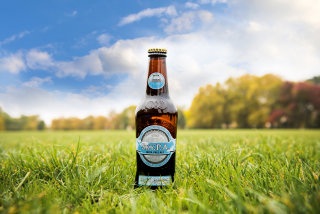 Image: Innis and Gunn's Sky P.A. beer