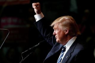 Image: Donald Trump in Wisconsin