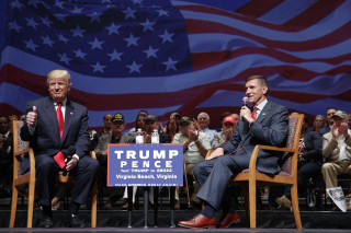 Image: Donald Trump and Lt. Gen. Michael Flynn
