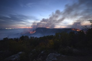 Image: Tennessee wildfire