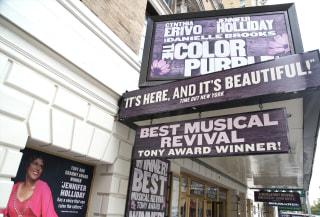 "Jennifer Holliday Returns To Broadway's ""The Color Purple"""