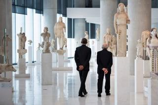 Image: GREECE-US-POLITICS-DIPLOMACY