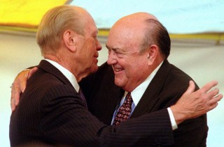 IMAGE: Melvin Laird and Gerald Ford