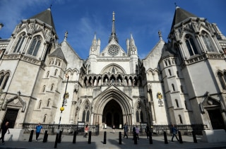 Image: The Royal Courts of Justice in London