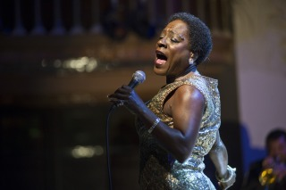 Sharon Jones & The Dap Kings Perform At Palau De La Musica In Barcelona