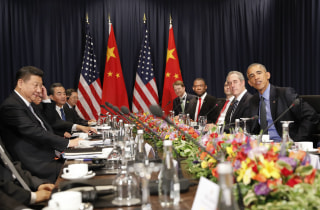 Image: Barack Obama, Xi Jingping