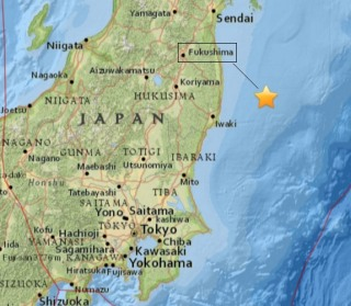 IMAGE: Japanese earthquake