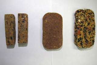 Image: NASA food bars for Orion